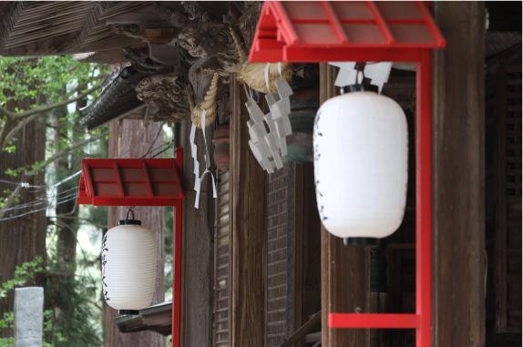 1. 熊野神社拝殿